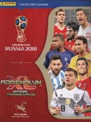 Adrenalyn XL FIFA World Cup 2018 Album kolekcjonera