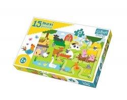 Puzzle Maxi Zwierzęta na wsi 15