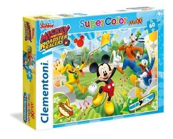 Puzzle 60 Super Color Maxi Mickey and the Roadster Racers