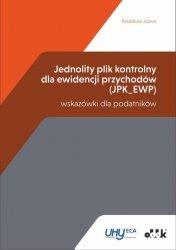 Jednolity plik kontrolny dla ewidencji przychodów (JPK_EWP) - wskazówki dla podatników