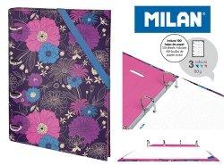 Segregator MILAN A4 IN BLOOM + 100 kartek w kropki