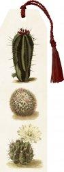 Zakładka 01 ze wstążką Kaktusy 2 sztuki