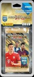 Adrenalyn XL FIFA 365 2019 5 saszetek + 1 karta z limitowanej edycji