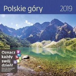 Kalendarz wieloplanszowy Polskie góry 30x30 2019