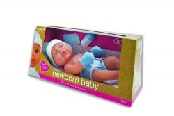 Lalka bobas Newborn Baby Chłopiec 38 cm
