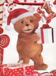 Torebka prezentowa świąteczna M Boże Narodzenie mix 12 sztuk