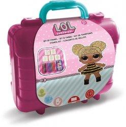 Pieczątki LOL megazestaw plastikowa walizka