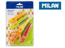 Nożyczki MILAN do wycinania wzorów z 4 ostrzami