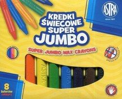Kredki świecowe Super Jumbo 8 kolorów