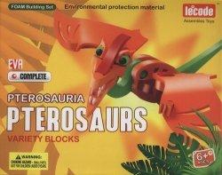 Puzzle piankowe 3D Dinozaury Pterozaurus