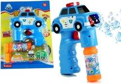 Bańki mydlane pistolet niebieski zapasy dźwięki