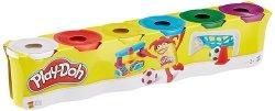 Ciastolina Play-Doh 6-pak podstawowe kolory