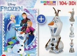 Puzzle 104 + 3D model Frozen