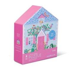 Puzzle dwustronne 24 Domki cukiernia