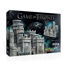 Wrebbit 3D Puzzle Gra o Tron Winterfell 910 elementów