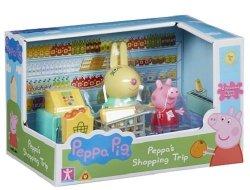 Świnka Peppa zestaw zakupy