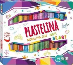 Plastelina St.Art 24 kolory