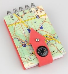 Kołonotes z kompasem USA