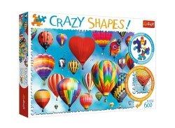 Puzzle Crazy shapes Kolorowe balony 600