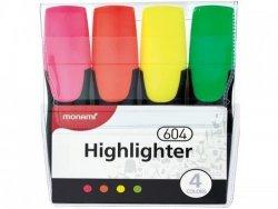 Zakreślacz 604 4 kolory