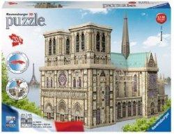 Puzzle 3D-Katedra Notre Dame 324