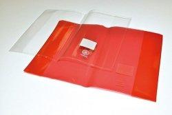 Okładka na zeszyt DONAU A5 czerwona 25 sztuk