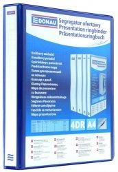 Segregator ofertowy DONAU A4/4RD/16, niebieski