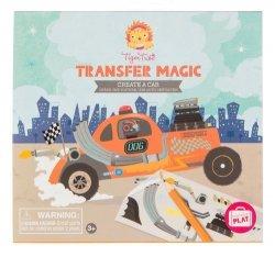 Zdrapywanki Transfer Magic Stwórz samochód
