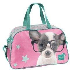 Torba sportowa Studio Pets chihuahua w okularach