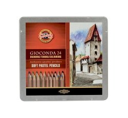 Gioconda Pastele suche w drewnie 24 kolory