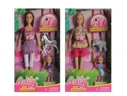 Lalka Anily 30 cm z dzieckiem i akcesoriami mix