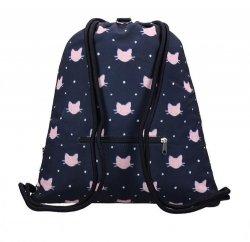 Plecak na sznurkach Meow