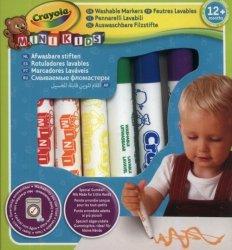 Flamastry Crayola zmywalne Mini Kids 8 kolorów