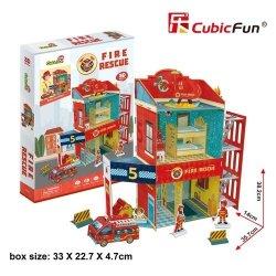 Puzzle 3D Straż pożarna