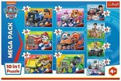 Puzzle 10w1 Ekipa Psiego Patrolu