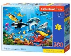 Puzzle Tropical Underwater World 200