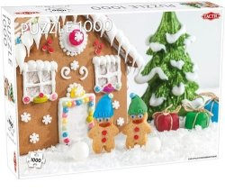 Puzzle Christmas gingerbread house 1000