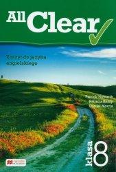 All Clear 8 zeszyt do ęzyka angielskiego