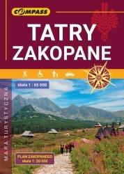 Mapa Tatry Zakopane 1:65 000