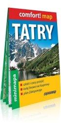 Tatry laminowana mapa turystyczna mini 1:80 000