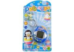 Gra elektroniczna Tamagotchi zwierzątko jajeczko niebieski