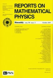 Reports on Mathematical Physics 84/2