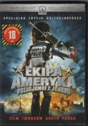 Ekipa Ameryka Policjanci z jajami  DVD Specjalna edycja kolekcjonerska