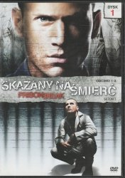 Prison Break Skazany na śmierć Sezon 1 Odcinki 1-2 DVD