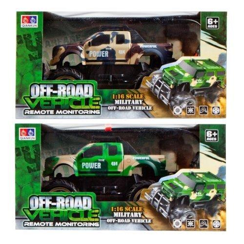 Auto terenowe Off-Road 1:16 wojskowe mix kolorów