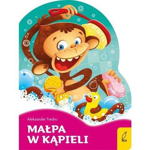 Małpa w kąpieli Poeci dla dzieci Wykrojnik
