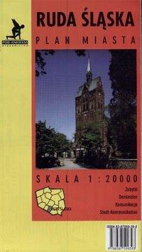 Ruda Śląska - plan miasta