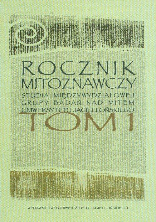 Rocznik mitoznawczy Tom 1