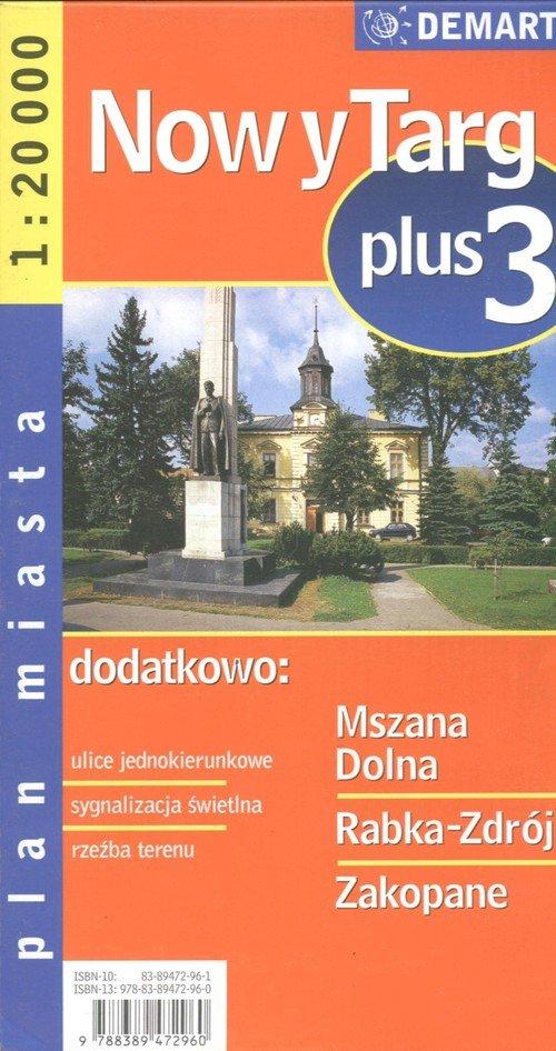 Zakopane plus 3 - plan miasta
