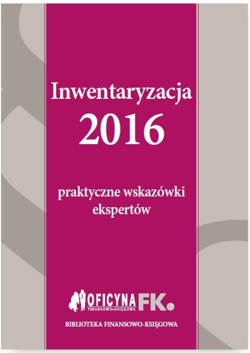 Inwentaryzacja 2016